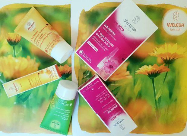 Zestaw kosmetyków firmy Weleda