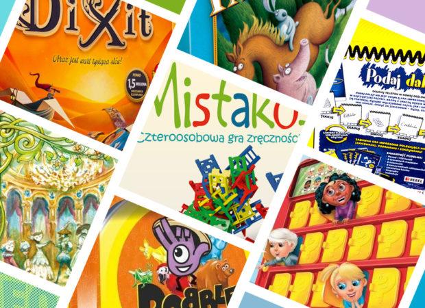 Najlepsze gry planszowe dla dzieci i rodziców ranking