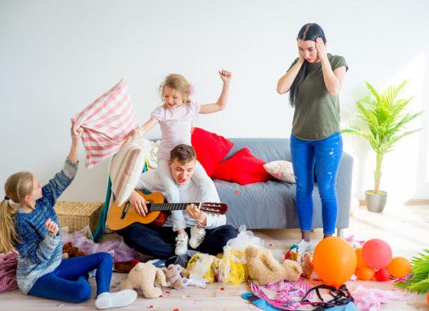 co robić z dziećmi w domu, zabawy w domu