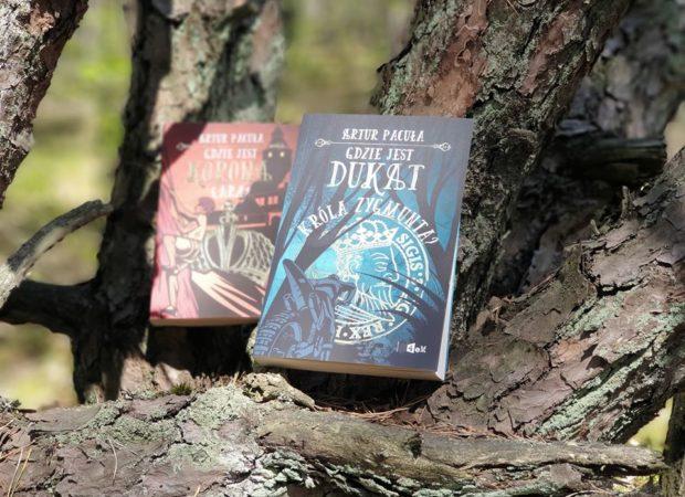 Wakacyjny konkurs wygraj książki Gdzie jest korona cara