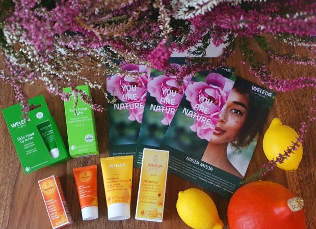 Jesienny konkurs z zestawami kosmetyków firmy Weleda dla całej rodziny