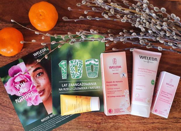 Łatwy konkurs dla dzieci i rodziców z naturalnymi kosmetykami Weleda