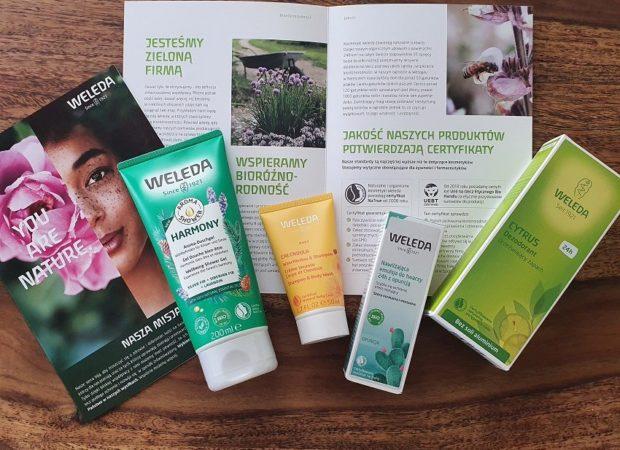 Konkurs z naturalnymi kosmetykami Weleda
