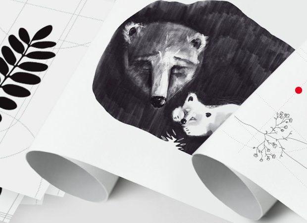plakat niedźwiedź - doti doti