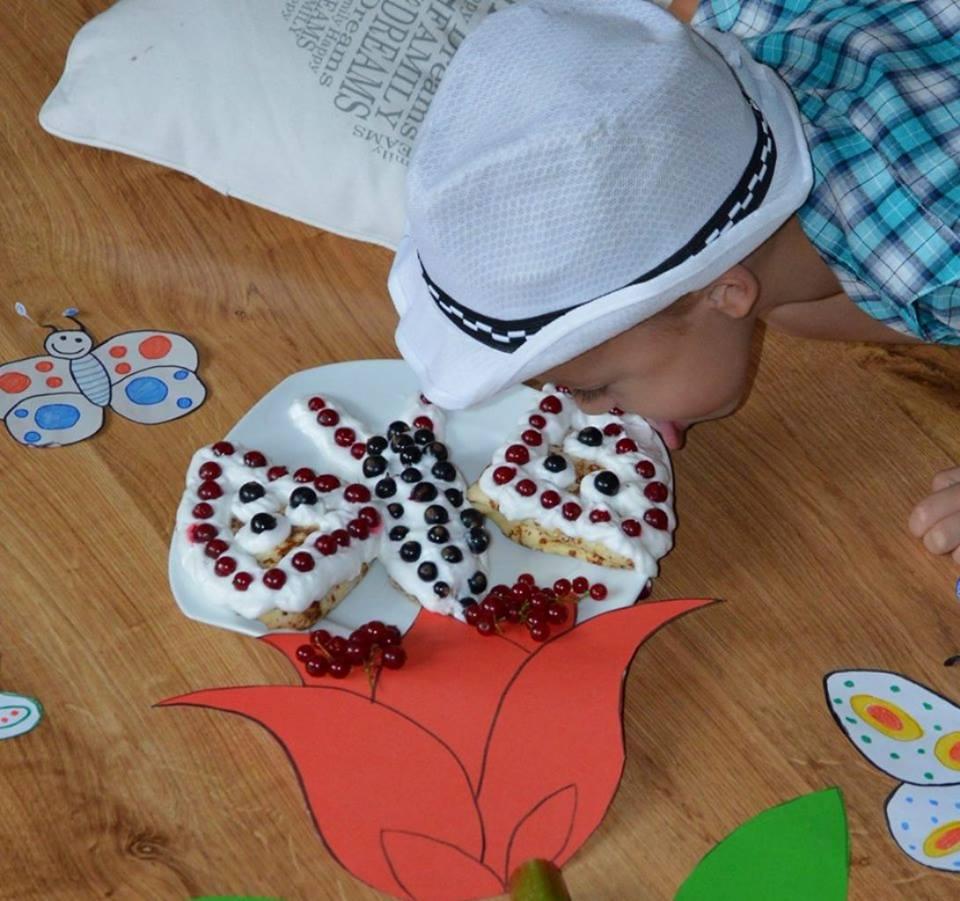 Naleśnikowy motylek