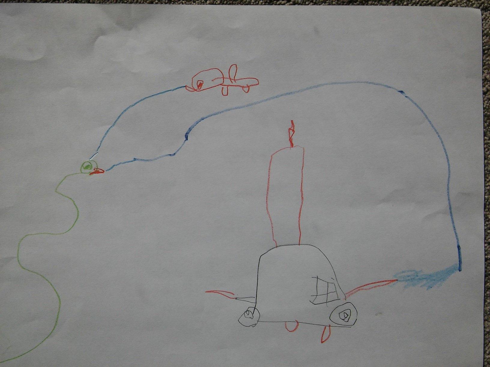 Krzyś patrol vs wąż