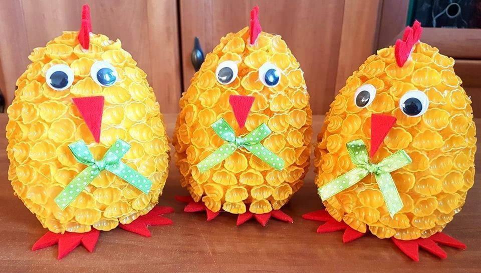 Wielkanocne kurczaki.