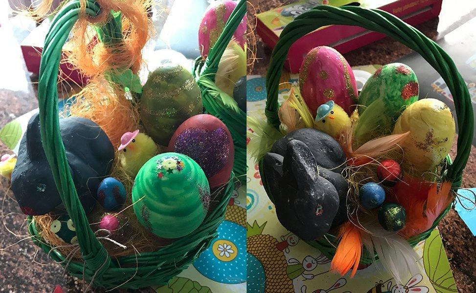 Jajcane koszyczki