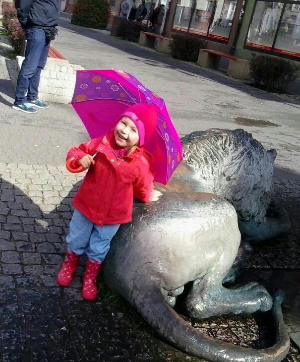 Ania - deszczowa pogoda nam niestraszna :-)
