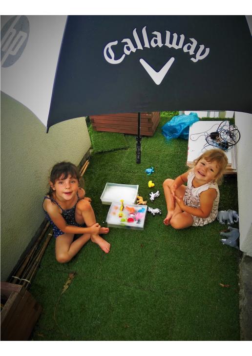 W czasie deszczu dzieci się NIE nudzą