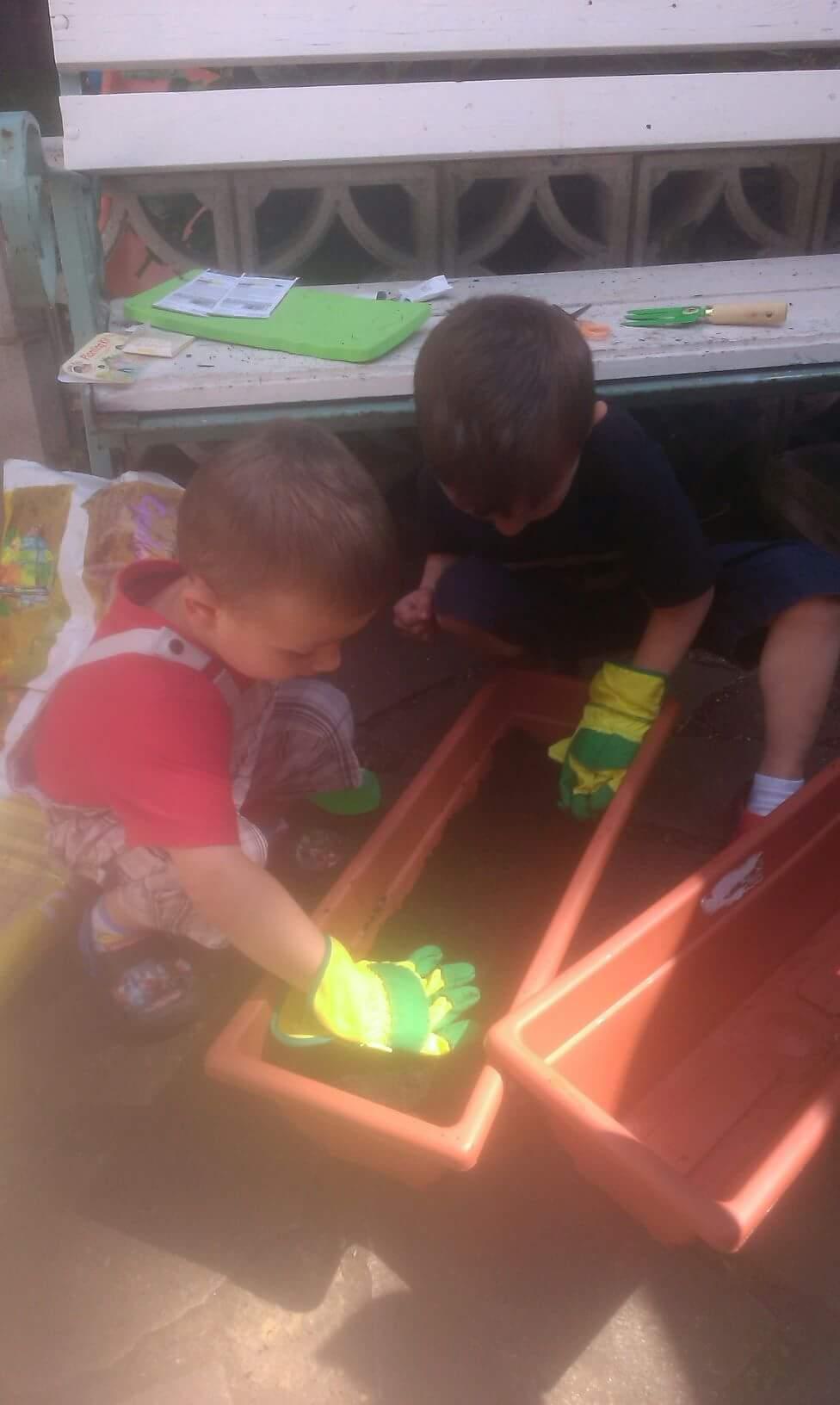 Prace ogródkowe