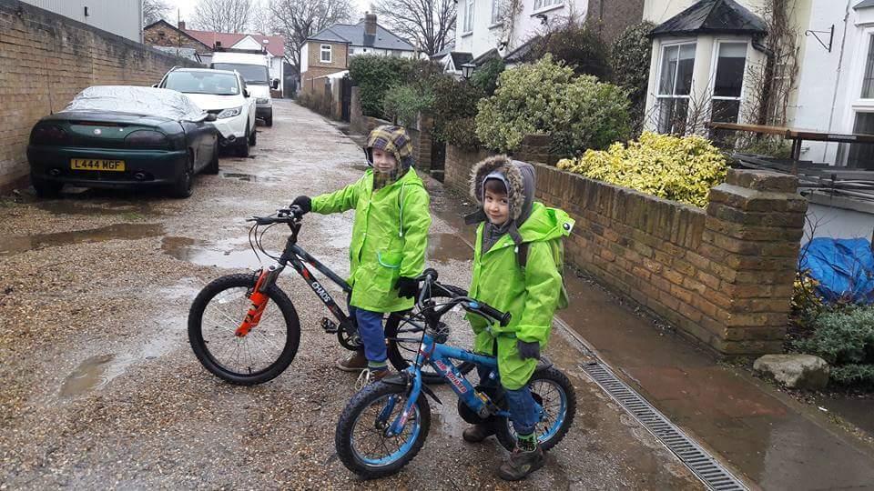 Każda pogoda dobra na rower!