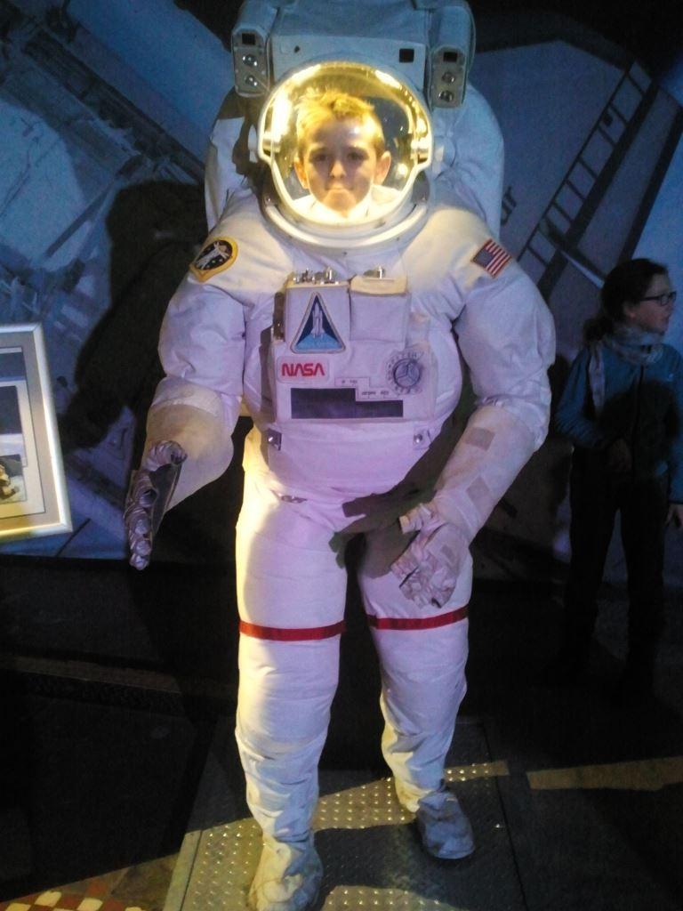 Jstem kosmonautą