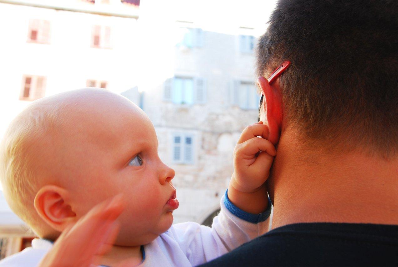 Taka ciekawosta - ucho taty :)