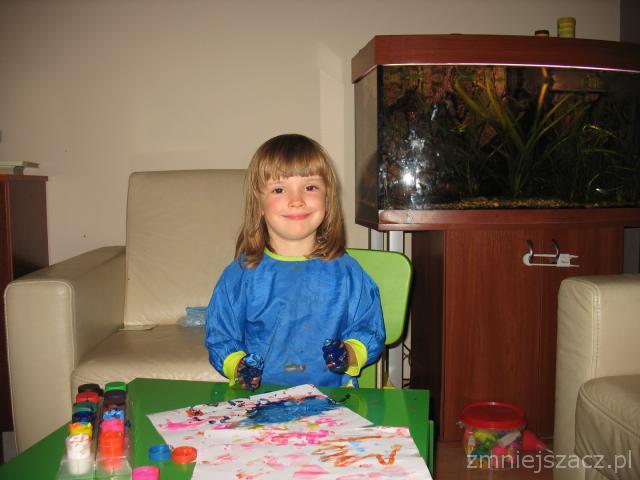 Brudne dziecko to szczęśliwe dziecko :)