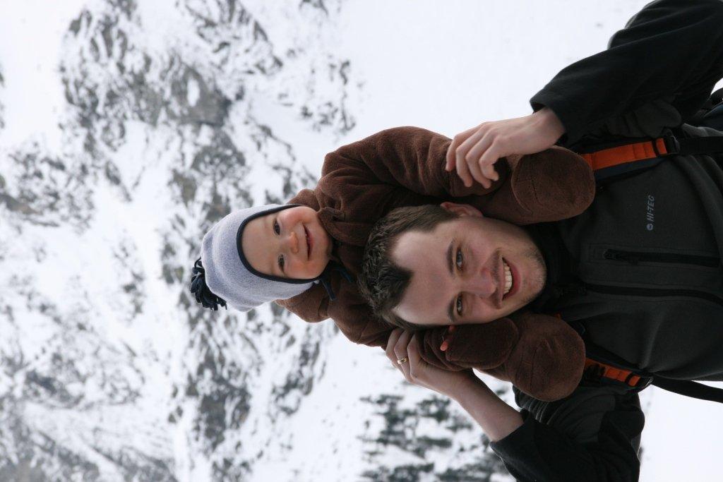 Z Tatą w Tatrach