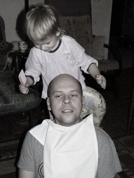 ...u fryzjera