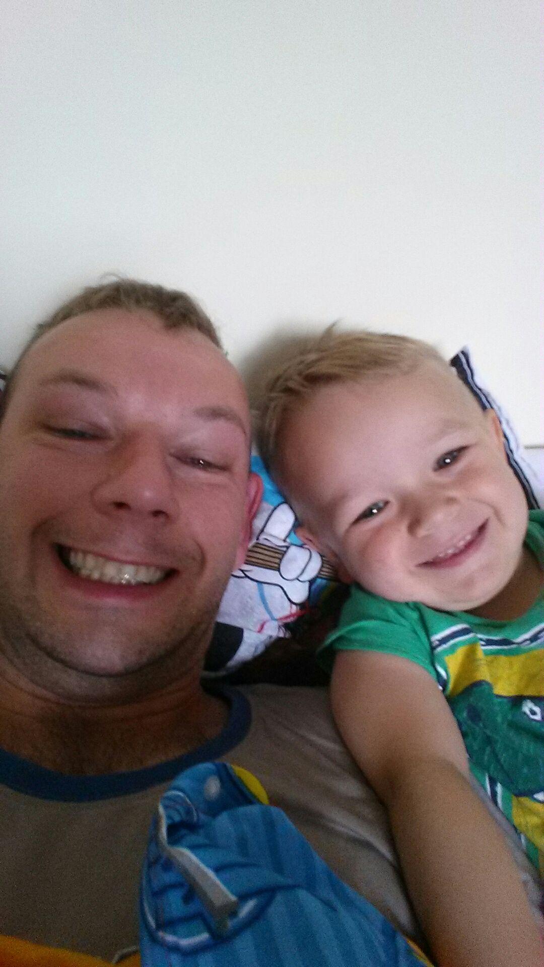Igus z tatusiem