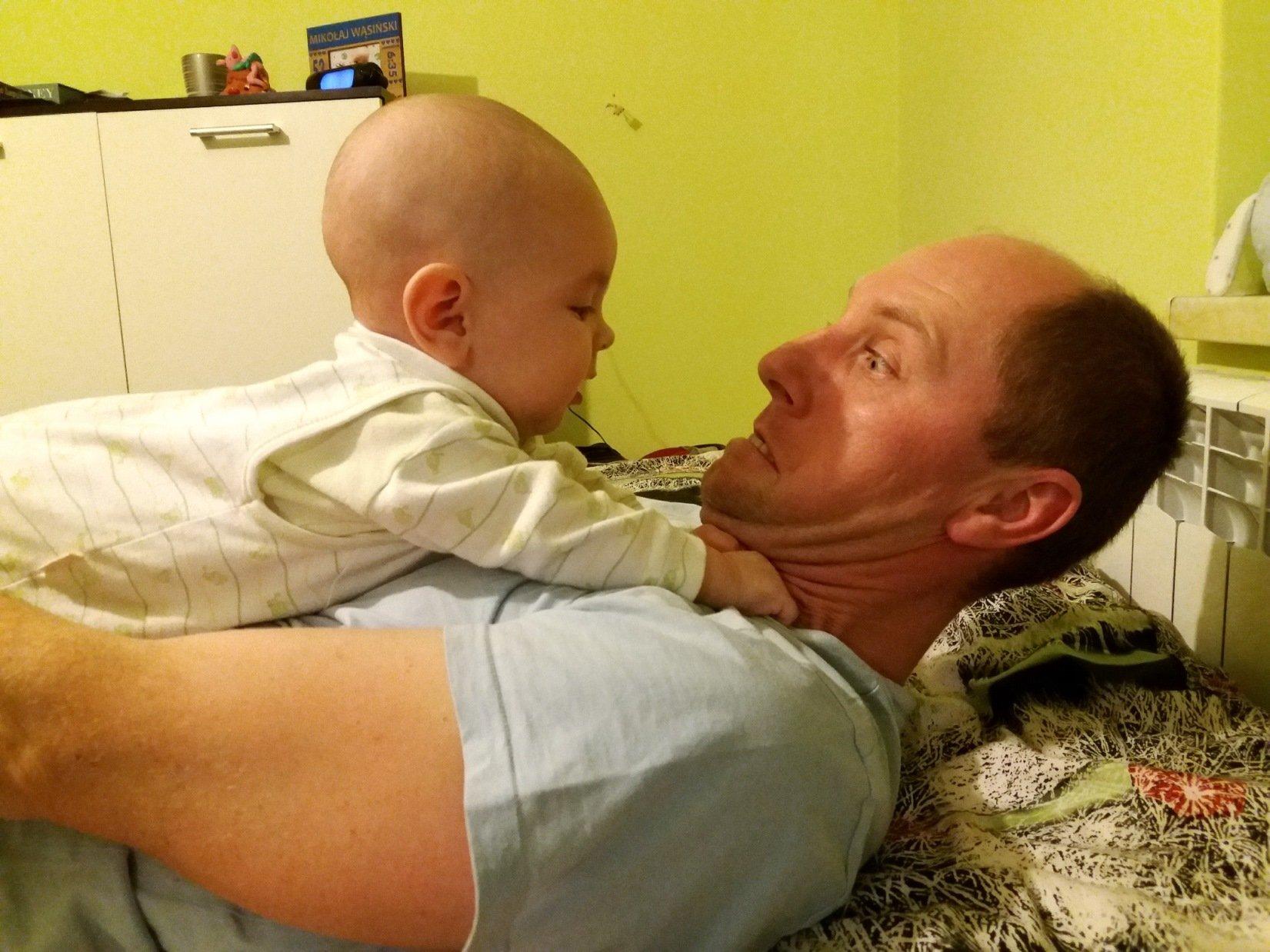 Tak mocno Cię kocham tatusiu :)