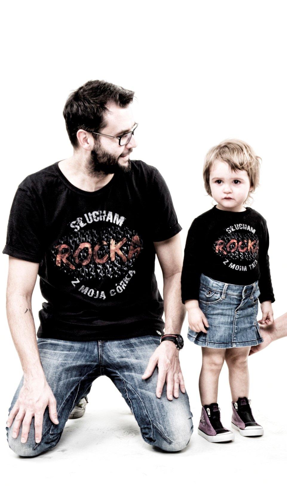 słucham rocka z moim tatą !