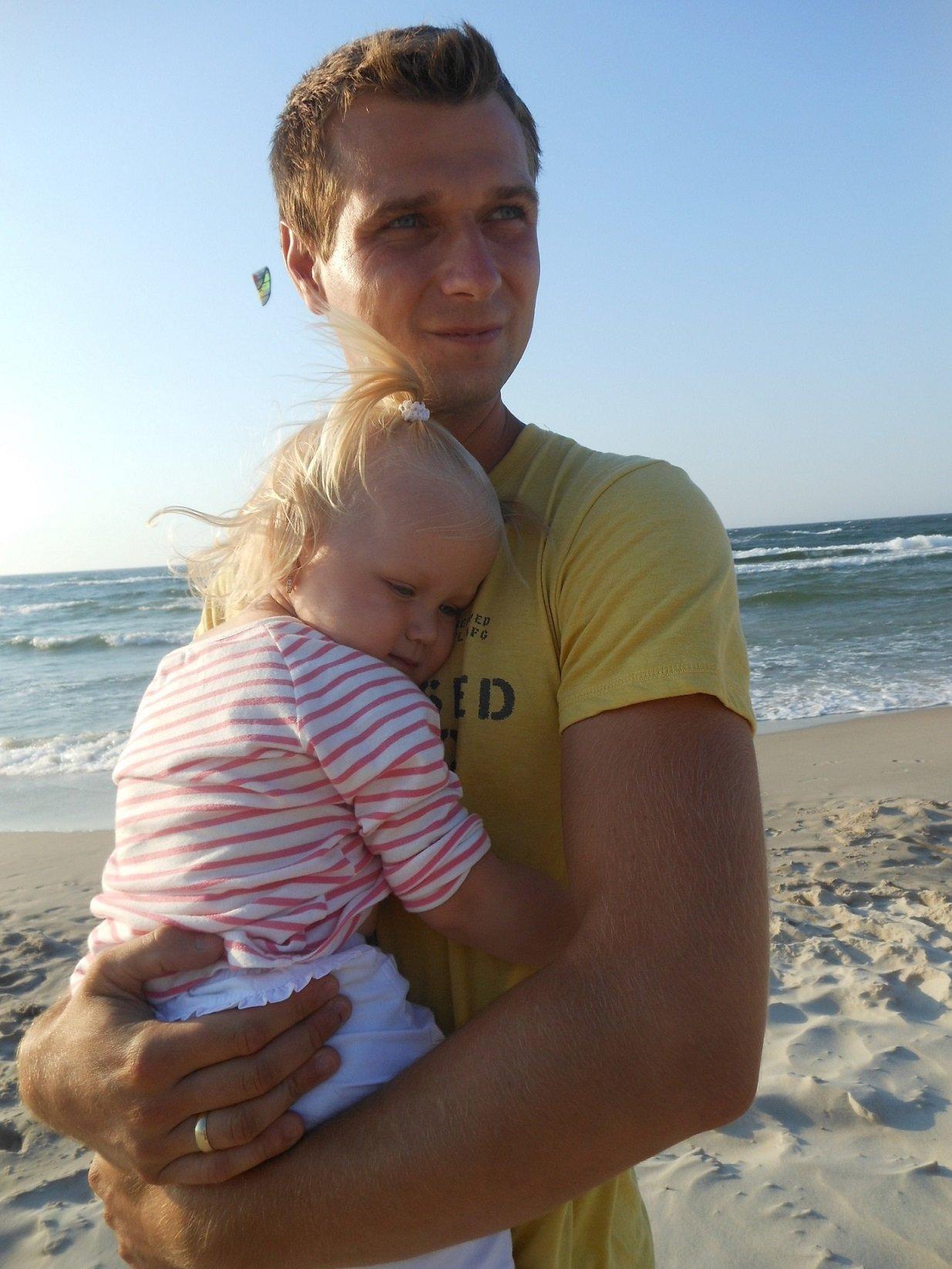 Milenka z tatusiem <3