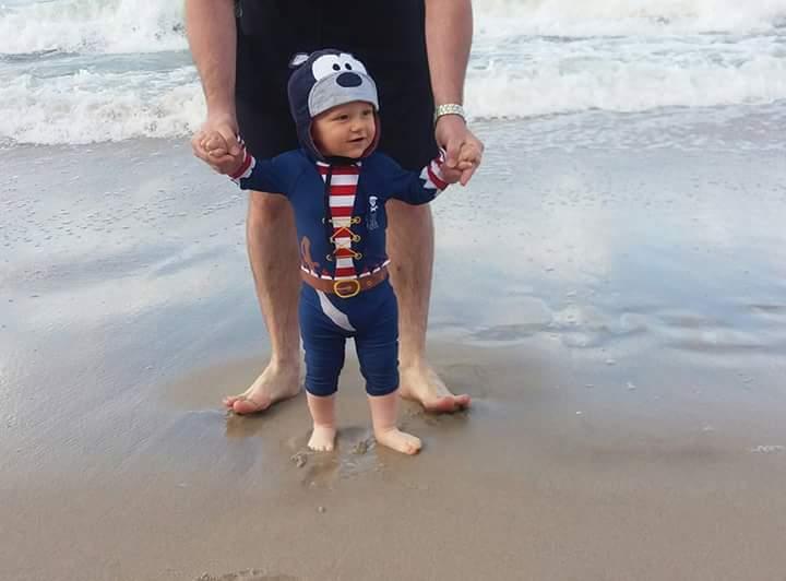 Tatuś małego pirata