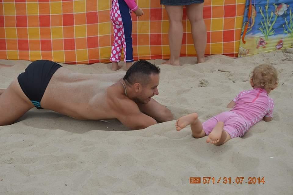 piaskowe pływanie