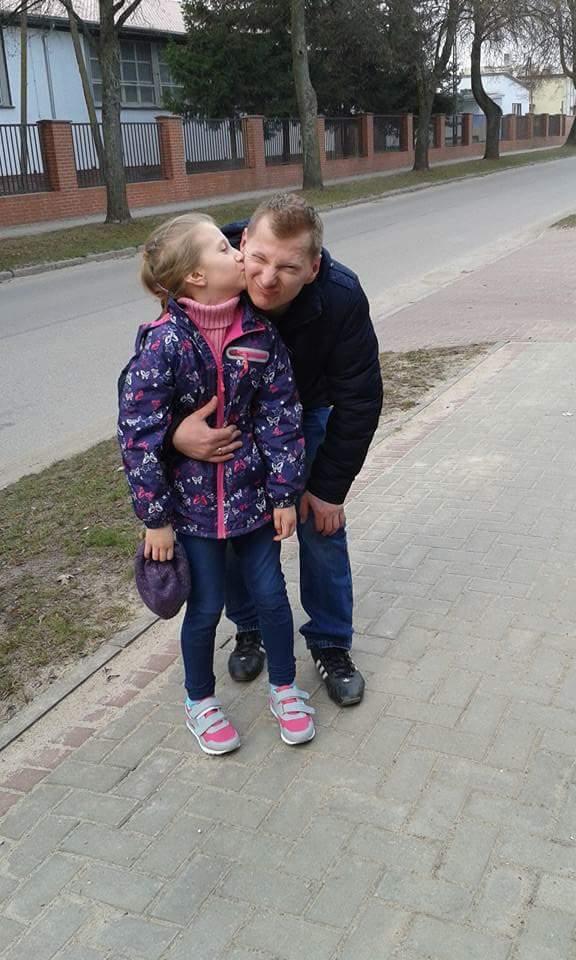 Zuzia i tatuś