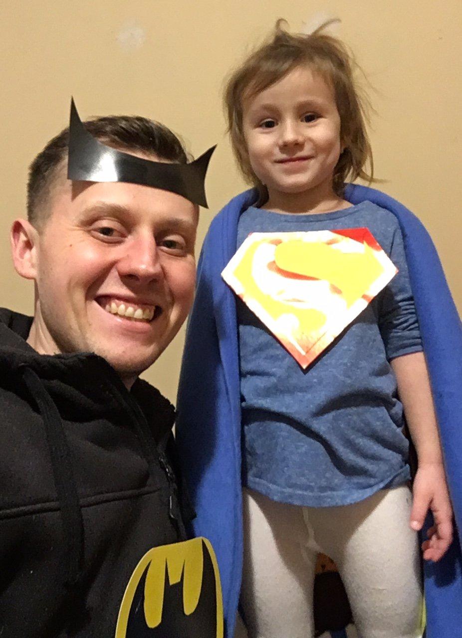 Superbohaterowie w domu