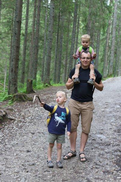 Z tatą w górach