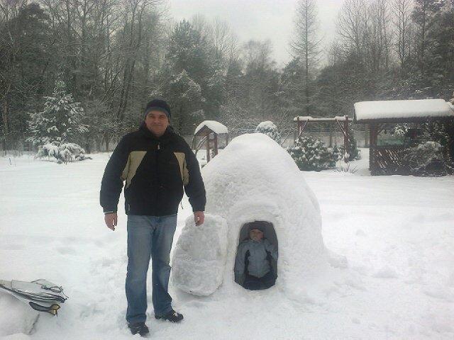 Zimowa budowla