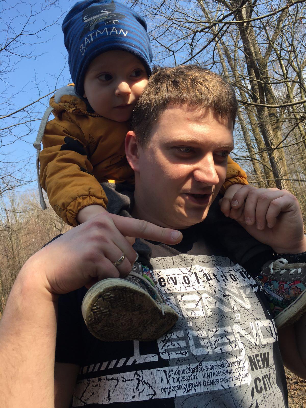 Zwiedzanie z tatuśkiem