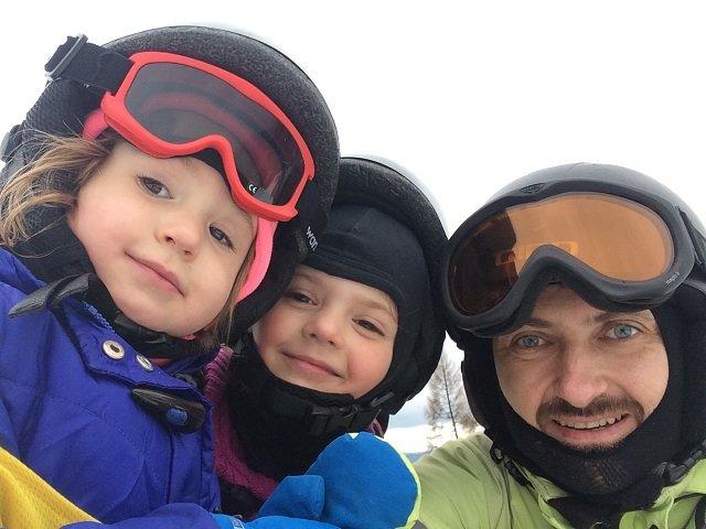 Iskierki na nartach