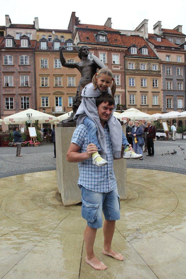 Zwiedzanie Warszawy na wesoło:)