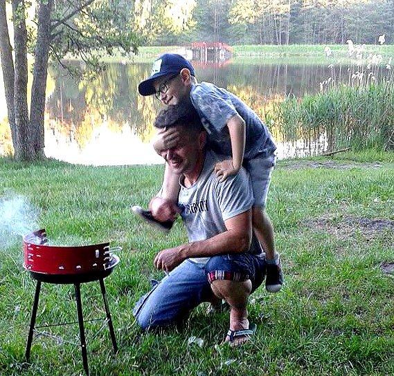 Męskie grilowanie:)