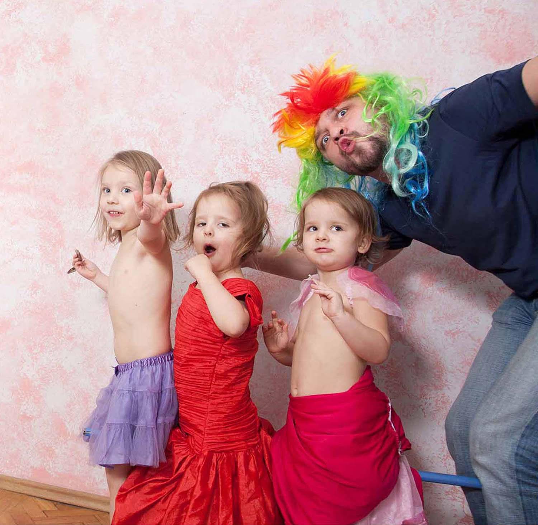 kolorowa rodzina