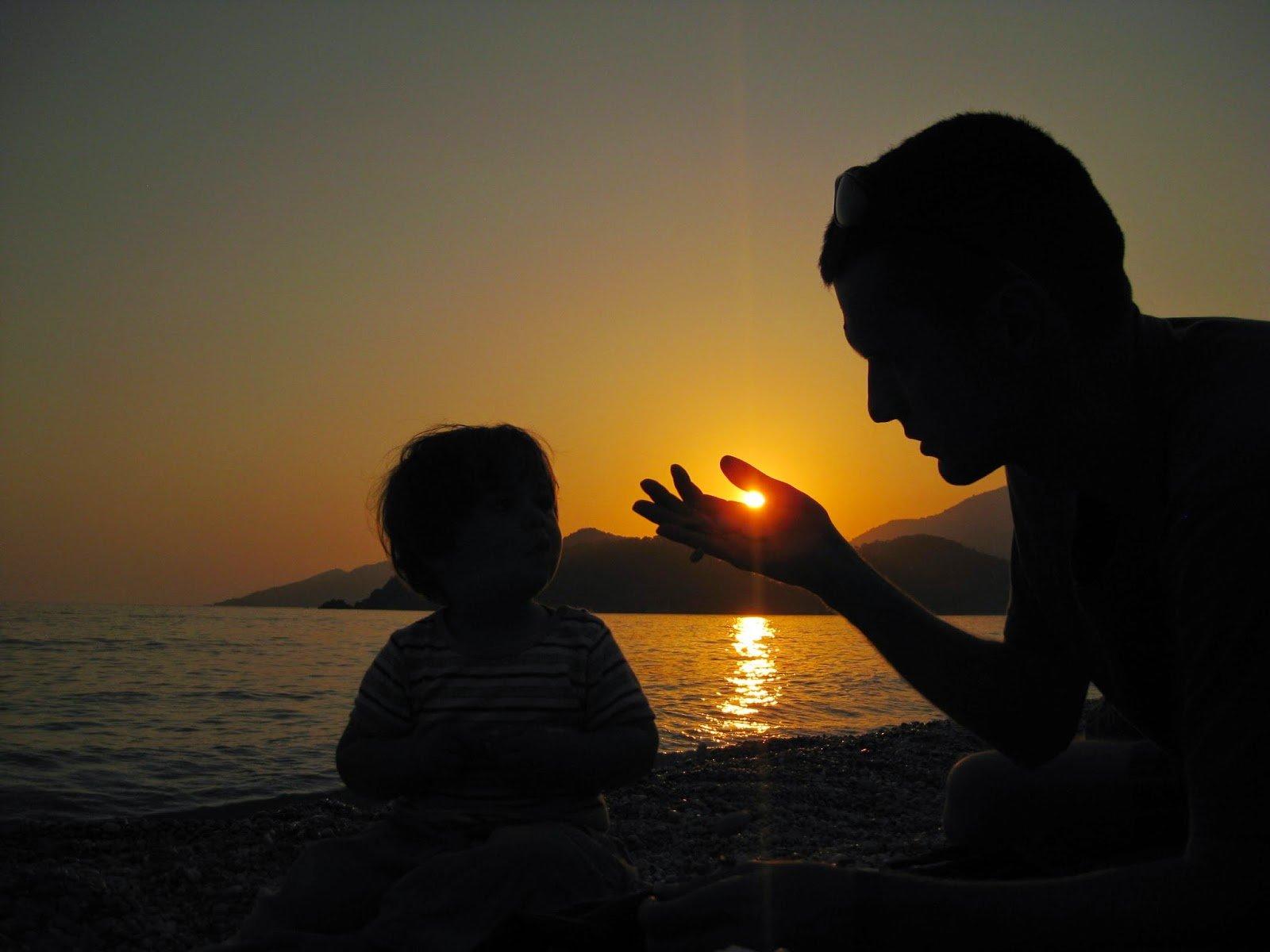 Tata jest gotów dziecku dać wszystko