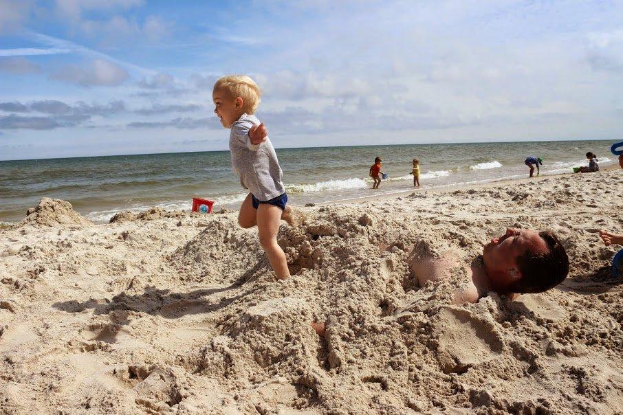 Zakopałem tatę!